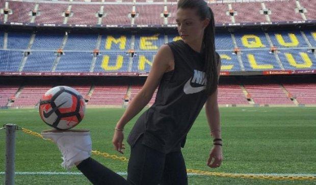 Найкращі представниці жіночого футбольного фристайлу