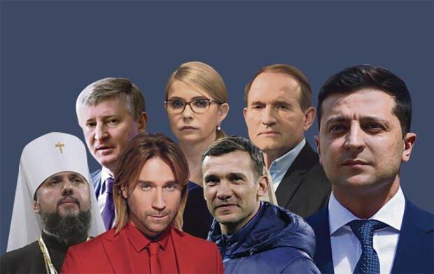 100 найвпливовіших українців, фотоколаж vesti.ua