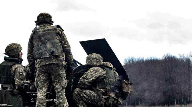 Военные, фото: ООС