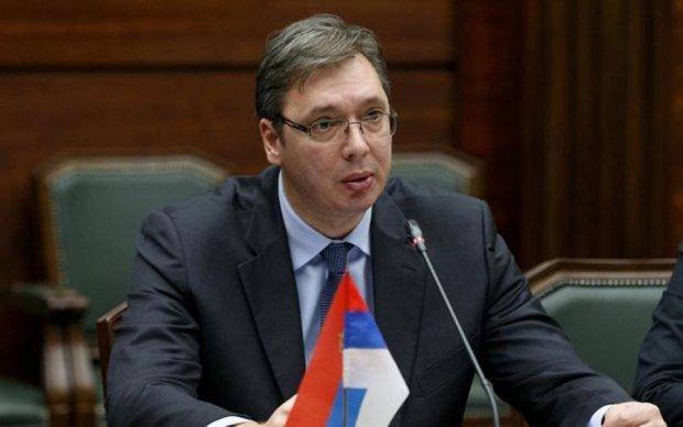 Кортеж сербського президента потрапив в ДТП: подробиці