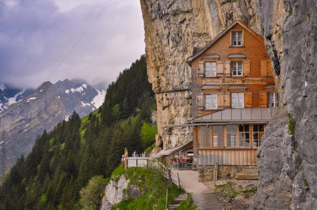 Ближче до природи: швейцарський гостьовий будинок, розташований у печері