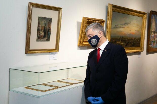 Картини Порошенка можуть знову заарештувати, виборцям Зеленського подобається