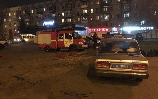 Неизвестный пытался взорвать газовую заправку в Киеве