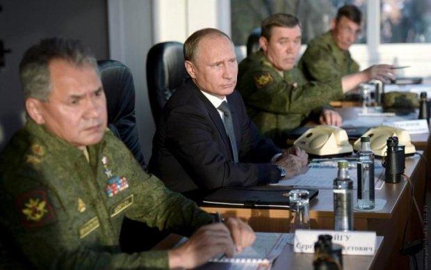 Запад-2017: Путина заметили на военном полигоне