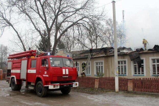 Пожарные, фото: ДСНС
