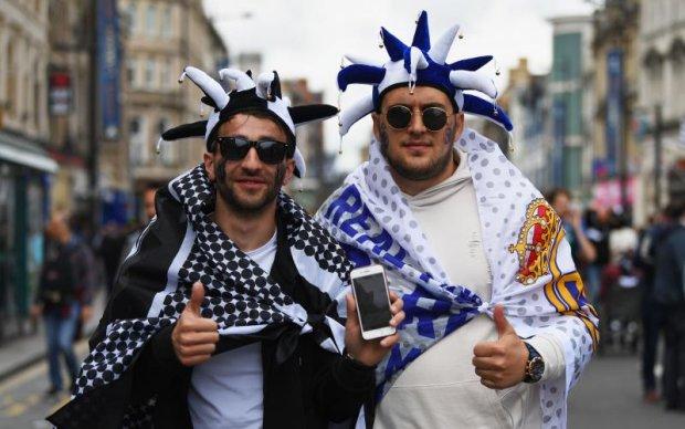 Фінал Ліги чемпіонів: Найяскравіші фото вболівальників Ювентуса й Реала в Кардіффі