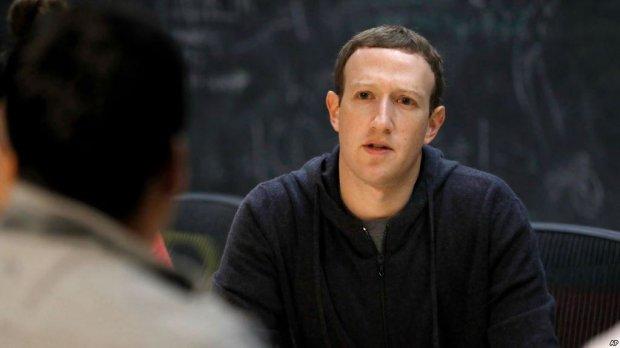 Цукерберг розповідь всю правду про злив даних користувачів Facebook