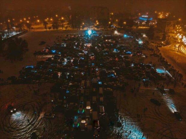 У Харкові зробили найбільшу в Україні автоялинку, фото: Харків 1654