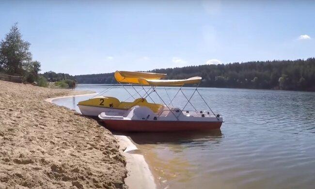 Скрін, відео YouTube Голубі озера