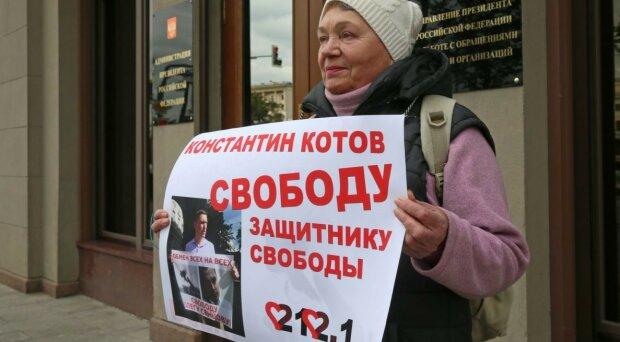 Росіяни вимагають звільнити активіста Котова: протести покотилися по всій Москві