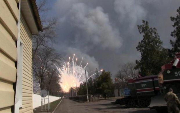 Минобороны рассматривает три причины взрывов в Балаклее