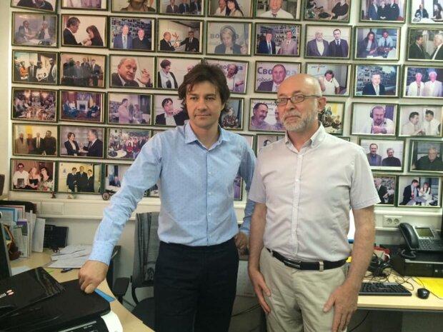 Сергій Проскурня (праворуч) / фото: Facebook