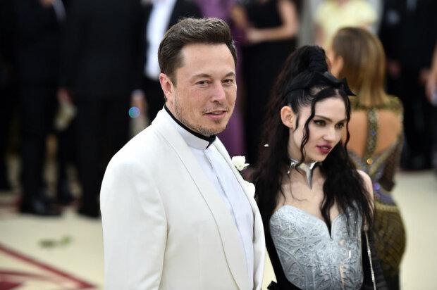 Маск и Граймс, фото: Getty Images