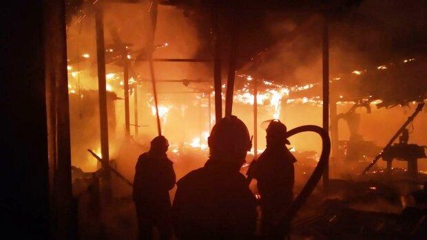 пожар / фото: ГСЧС