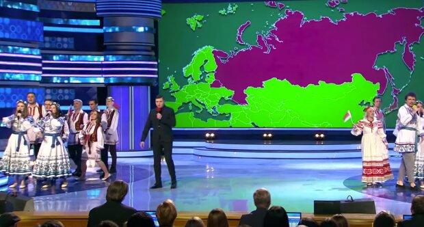 1/8 финала высшей лиги КВН, кадр из видео