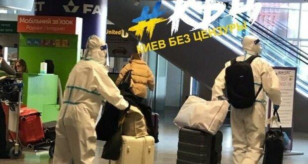 """В аеропорту """"Бориспіль"""" помітили туристів у """"ковідних"""" костюмах: """"У моді новий тренд"""""""