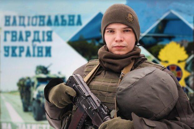 гвардеец Игорь, фото: штаб ООС