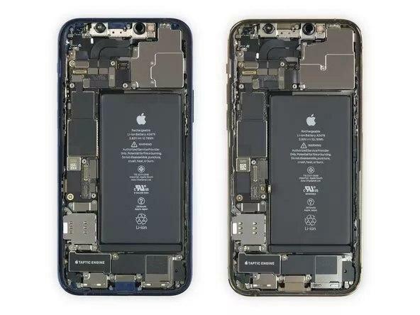 iPhone 12 Pro, скриншот
