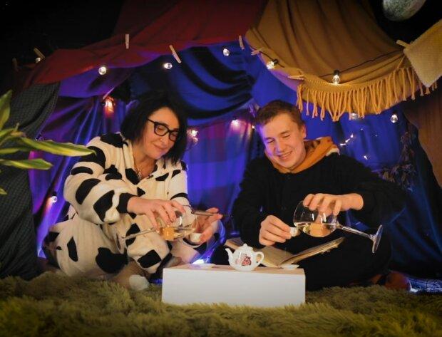 Лолита и Шакулин, скрин с видео