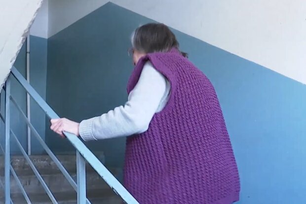 Пенсіонерка, кадр з відео