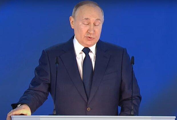 Владимир Путин, скриншот: YouTube
