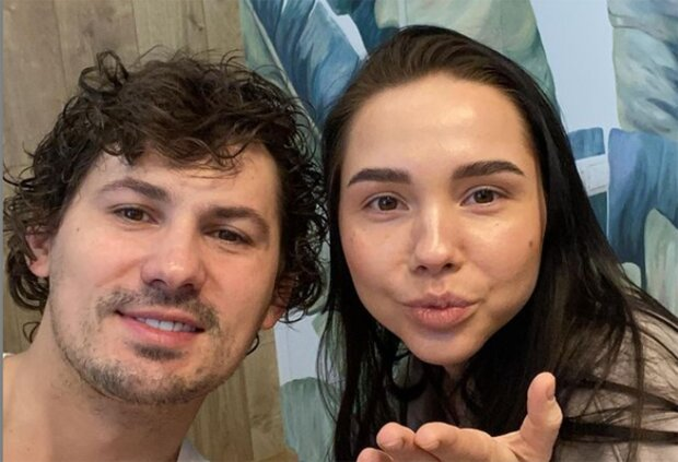 Евгений Кот с женой фото из instagram