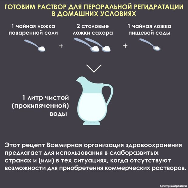Рецепт Комаровського, скріншот з мережі