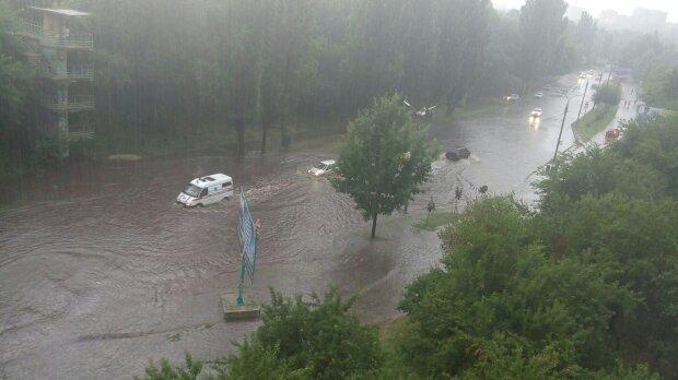 Ливни в Киеве, фото Facebook