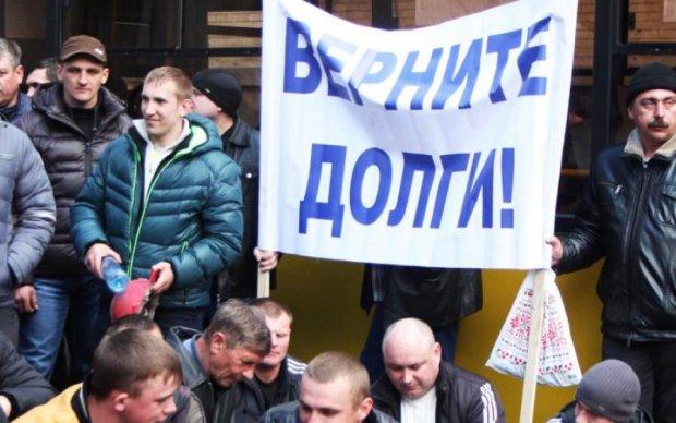 В Україні починається бунт шахтарів: гірники йдуть на Київ