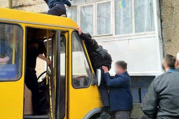 Инцидент в Кропивницком, фото: Нацполиция