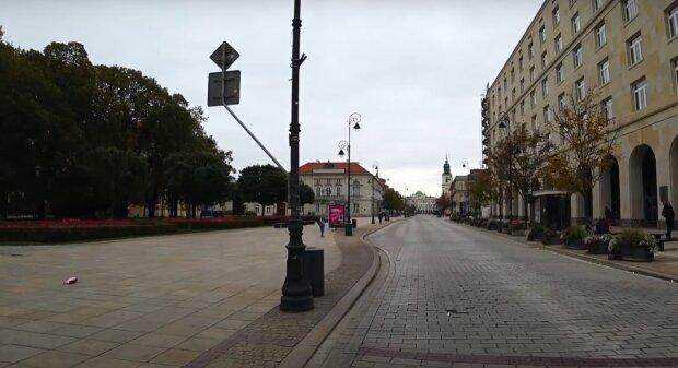 Варшава, кадр з відео, зображення ілюстративне: YouTube