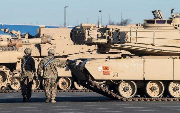 Росія побачила танки США біля власних кордонів