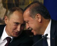 Владимир Путин и Раджеп Эрдоган