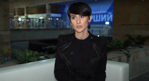 Катерина Павленко, скриншот из видео