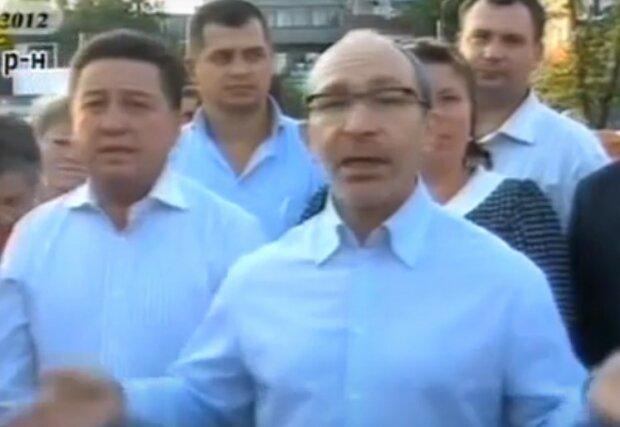 Кернес и Фельдман, скриншот из видео