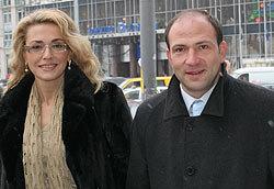 Лев Парцхаладзе и Ольга Сумская