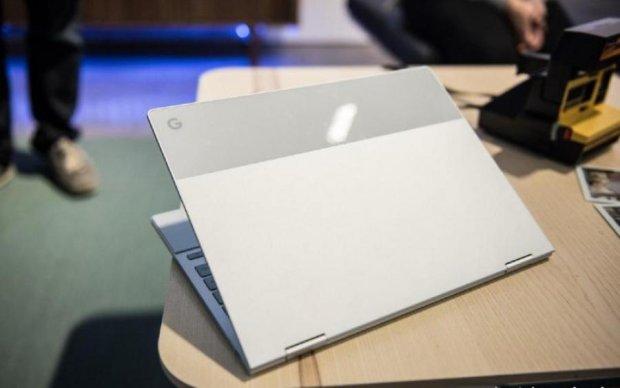 Google випустить ноутбук з двома операційками