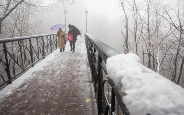 Погода в Украине на месяц: не спешите прятать сапоги
