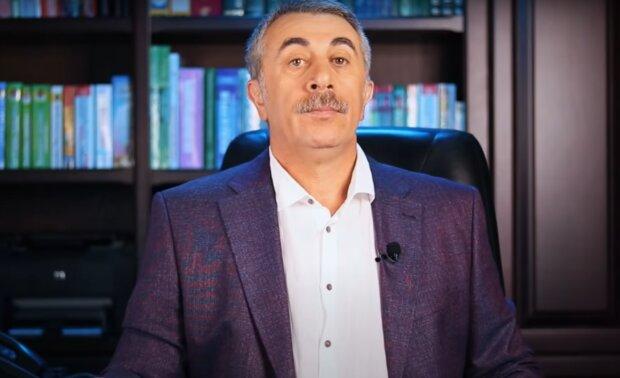 Комаровский, кадр из видео