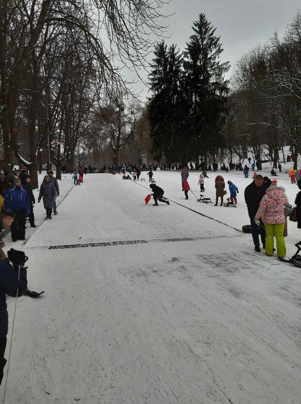 Львів, парк Культури, фото з фейсбук