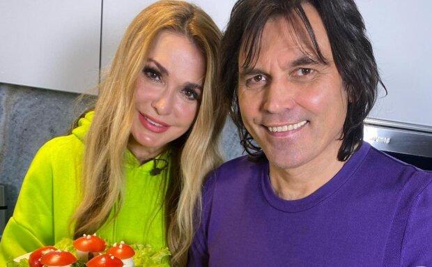 Ольга Сумская и Виталий Борисюк, instagram.com/olgasumska