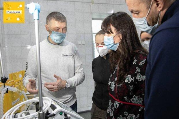 Фонд Рината Ахметова помогает государственной медицине