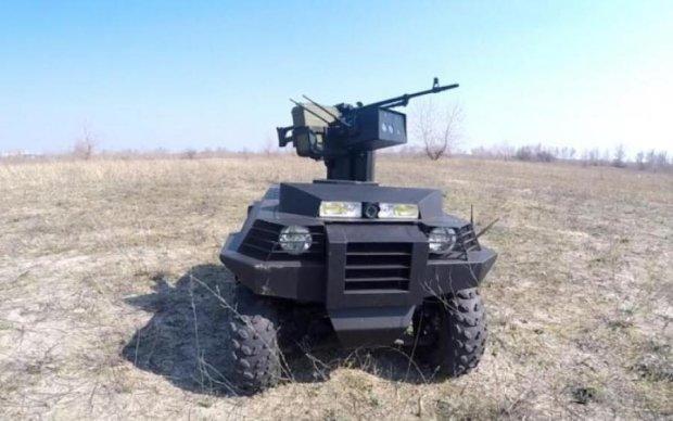 Випробування українського бойового робота показали в мережі