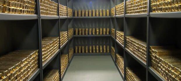 Запаси золота, кадр з відео