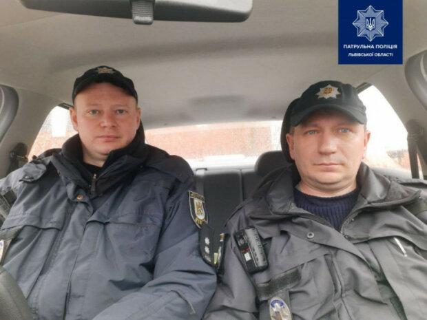 Фото поліції Львівщини