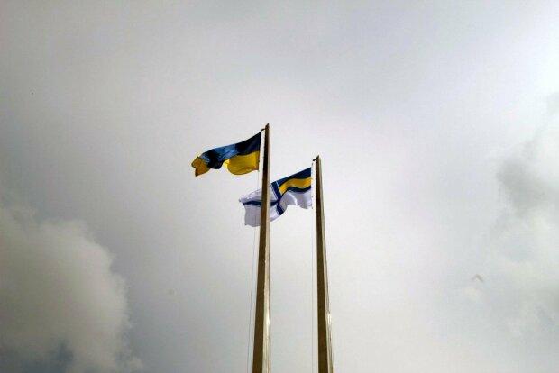 День Флага ВМС Украины в Мариуполе, фото с Facebook