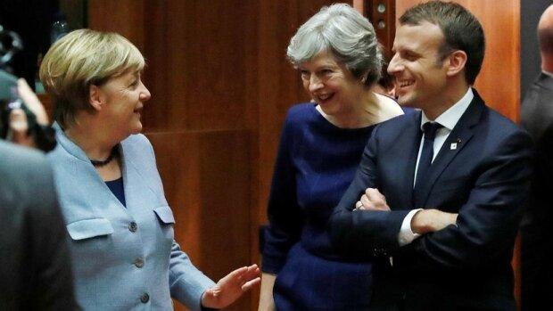 Эммануэль Макрон и Ангела Меркель, фото DW