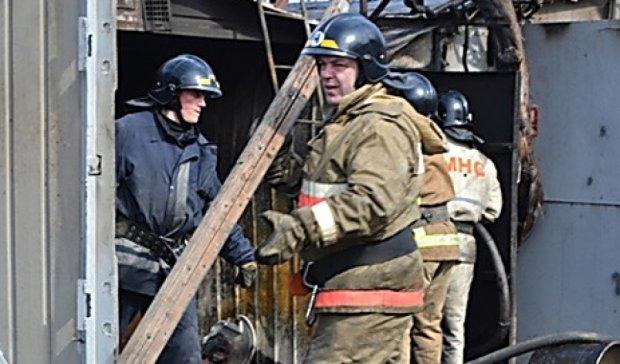 Три потужні вибухи прогриміли під Києвом