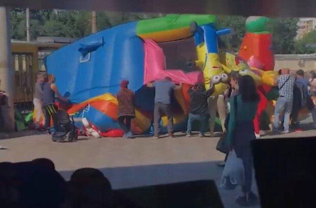 Батут / скриншот из видео