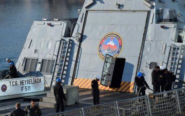 Путинские корабли решили потягаться с флотом НАТО